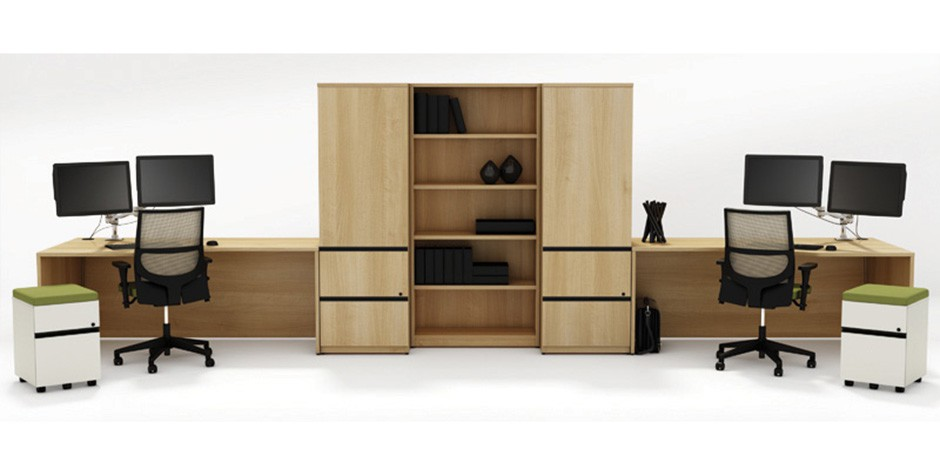 autoportant mobilier de bureau consulis. Black Bedroom Furniture Sets. Home Design Ideas