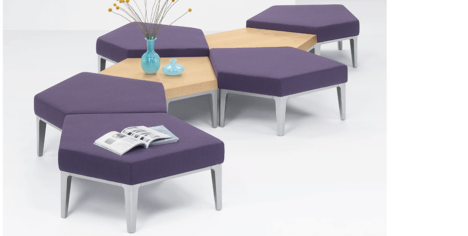 benchs et tables sectionnels Domo